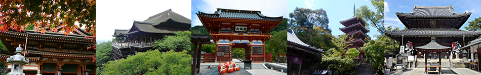 お寺、神社一覧